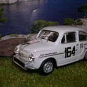 FIAT 5OO MUGELLO RALLYE ECHELLE 1:43 - car-collector.net