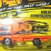 CAMION VOLVO CONTAINER MATCHBOX - car-collector