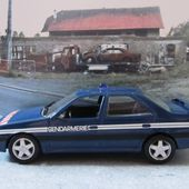 FASCICULE N°50 PEUGEOT 405 TURBO 16 GENDARMERIE NOREV 1/43 - car-collector.net