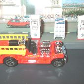 OLD NUMBER 5.5 CAMION DE POMPIERS US HOT WHEELS 1/64 - car-collector