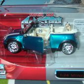 NEW MINI COOPER CABRIO TUNING 1/24 MINI 1000 MAISTO PRO RODZ CUSTOM SHOP - car-collector