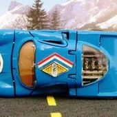 RENAULT ALPINE 3 LITRES 1968 1/43 POLITOYS - car-collector.net
