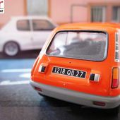 FASCICULE N°14 RENAULT 5 BERLINE - R5 ORANGE - NOS CHERES VOITURES D'ANTAN IXO 1/43 - car-collector.net