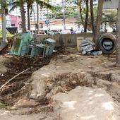 Pluie incroyable à Jomtien ce 11 septembre 2011 - Le billet de Michel