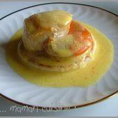 Noix de St Jacques & crème au safran... express mais raffiné !