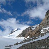 Pic de l'Etendard 3464m, les Rousses, rando glaciaire