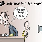 Humour Dopage: Lance Armstrong triche