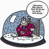 Humour Le Chat: Déneiger à cause d'un con