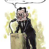 Humour Nicolas Sarkozy: Le fantôme Bettencourt
