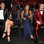 Gala du Ballon d'Or: Les compagnes respectives de Ronaldo et de Messi