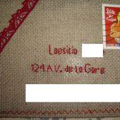 Carte Brodée Cousue : - Le Blog des Dames