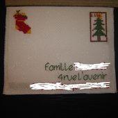 Tuto carte Postale brodée - Le Blog des Dames