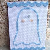 Fantômes brodés par - Le Blog des Dames