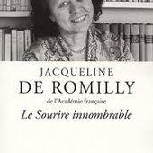 Jacqueline de Romilly - Le blog de Françoise Buy Rebaud