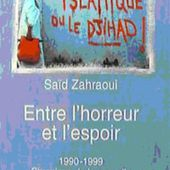 Entre l'horreur et l'espoir, de Saïd Zahraoui