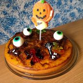 Gâteau d'Halloween chocolat orange - La cuisine de Rolly
