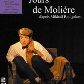LES TROIS JOURS DE MOLIERE de Boulgakov les 17 et 18 janvier à la Salle Vasse - Le Russe au-delà des mots