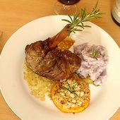 Souris d'Agneau Confites en Cocotte au Four - La Cuisine des Jours...