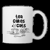 Tea cakes and cats