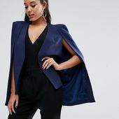 Lavish Alice Cape Blazer at asos.com