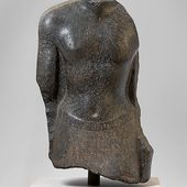 Torso of an official of Nectanebo I | Late Period | The Met