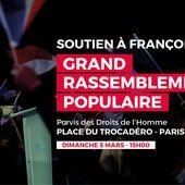 Grand rassemblement populaire au Trocadéro ce dimanche