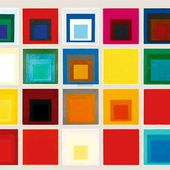 """ Homage to the square "" de Joseph Albers"