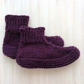Chaussons pour les adultes - Slippers pattern by Aglaé Laser