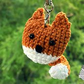 Keychain Fox pattern by Lena Crochetfox