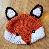 Fox Hat pattern by To Craft A Home