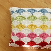 Paintbrush Pillow & Afghan pattern by Susan Carlson