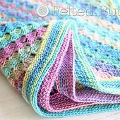Spring into Summer Blanket pattern by Susan Carlson