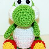 Mini Yoshi Gamer Friend pattern by Mary Smith