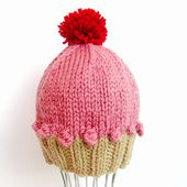 Cupcake Beanie pattern by Stacey Murray