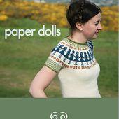 Paper Dolls pattern by Kate Davies