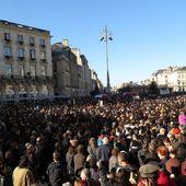 Marche républicaine: Plus de 100 000 personnes à Bordeaux selon les premières estimations