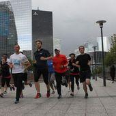Paris : Qu'est-ce qui les fait tant courir... entre collègues de travail?