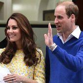 Royal baby: Première photo de Kate et William avec leur fille