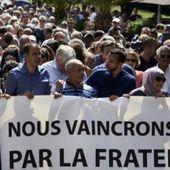 """La """"marche de la fraternité"""" rassemble musulmans, chrétiens et laïcs"""
