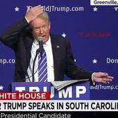 VIDEO. Donald Trump demande à une femme de tirer ses cheveux pour prouver qu'il n'a pas de perruque
