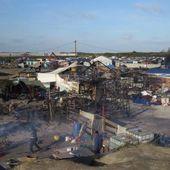"""Calais: Les travaux de démolition de la """" jungle """" ont repris"""
