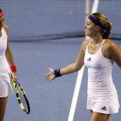 Finale de la Fed Cup: Encore une grosse désillusion pour le double Mladenovic-Garcia