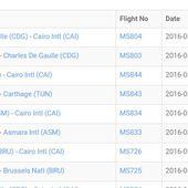 Crash du vol d'Egyptair : Ces éléments qui laissent penser que l'avion a été la cible à un attentat