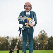 VIDEO. Les Anglais se préparent à brûler une effigie géante de Sepp Blatter