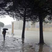 Intempéries: 22 départements placés en alerte orange, les vents violents se renforcent