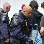 Loi Travail: A Paris, des manifestants sous haute-surveillance partagés entre colère et soulagement
