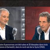 Jacques Attali face à Jean-Jacques Bourdin en direct
