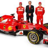 Ferrari presenta el F14 T que pilotarán Alonso y Raikkonen