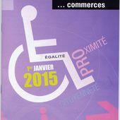 Accessibilité &amp&#x3B; commerces - Violence Routière 41 - Bougez autrement à Blois - Bougez autrement dans le val de Loire -