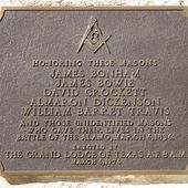 Alamo : Les Frères du Fort. Davy Crockett franc-maçon. Jim Bowie et William Travis aussi. - Bloc notes de Jean-Laurent sur les Spiritualités